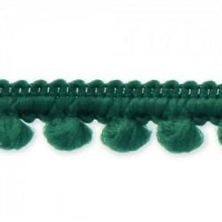 Ruban mini pompon Rose Fushia vendu par 50 cm (Utilisation : couture, Bracelet,décoration...)