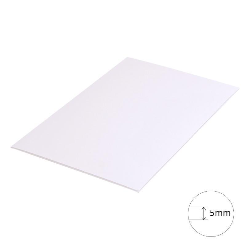 Carton Mousse (carton plume) Clairefontaine A4 Blanc épaisseur 5mm pour Travaux Graphiques & Beaux Arts