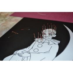 Carton Mousse (carton plume) Clairefontaine A4 Noir épaisseur 5mm pour Travaux Graphiques & Beaux Arts