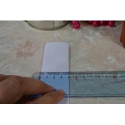 Tapis de découpe, quadrillé, format A4 :  220 X 300 X 3 mm