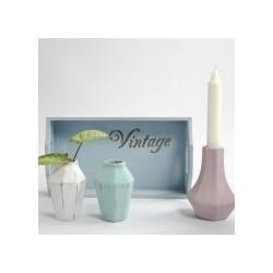 """Peinture Effet Craie Chalky  """"Vintage Look"""" Coloris Blanc 250ml"""