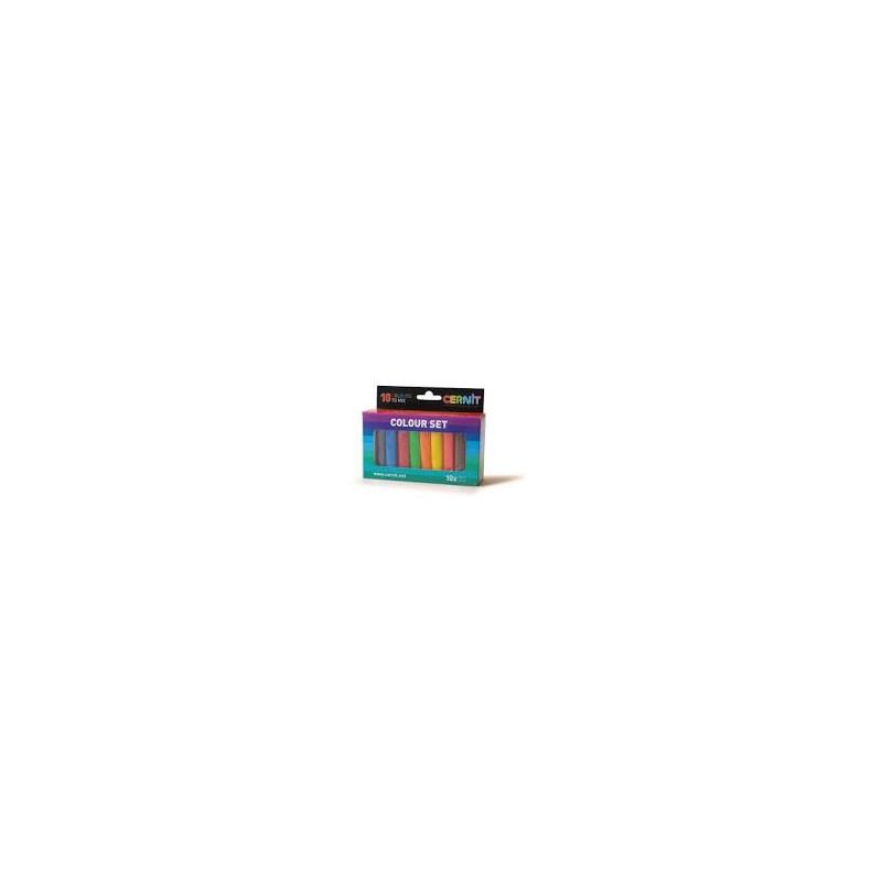 Pâte Cernit Set assortiment 10 couleurs Number One (10 x 30 gr)
