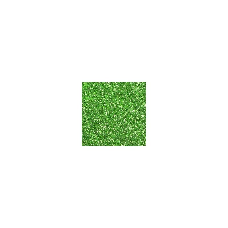 Plaque de Mousse pailletée vert clair Petit Format  A4 ( 20 x 30 cm)