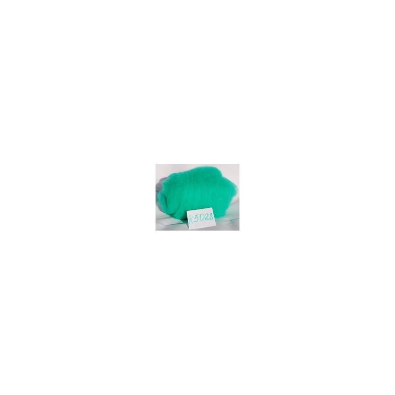 Laine Cardée à Feutrer 50 gr coloris Vert Océan LNK5028