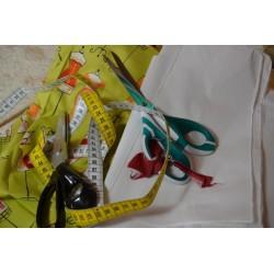 Paire de Ciseaux de Précision Spécial Couture  12 cm (Lame Acier, poignée souple)