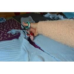 Découseur avec capuchon de protection Spécial Couture (10 cm) (Vendu à l'unité)