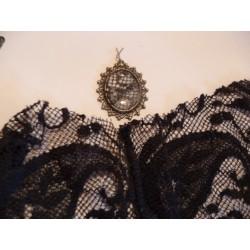Pendentif  fin et long ou embellissement  en Cuivre pour  Création de Bijoux Efcolor