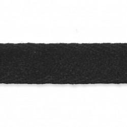 Ceinture en feutrine noire 2 mètres à couper et à customiser
