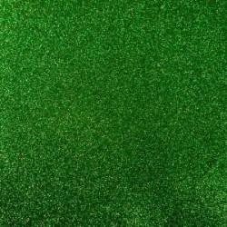 Plaque de Mousse pailletée vert foncé Petit Format A4 (20 x 30 cm)