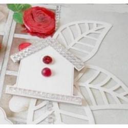 Strass Pierres blanc Crystal assortiment adhésives 20 mm sachet de 16 pièces