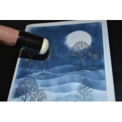 Pinceau Tampon à doigt, lot de 10,  Ø 20 mm (sachet économique : 10 pièces)