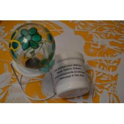 Colle acrylique vinylique professionnelle blanche pour abat-jour (pot 30 ml)