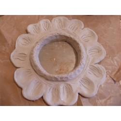 Pâte séchant à l'air, autodurcissante, stone clay, la pâte qui sèche ressemble à de la pierre, pain de 400gr