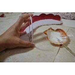 Cercle nu armature, carcasse d'abat-jour, diamètre 15 cm