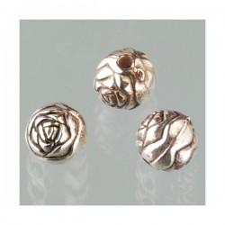 Perles très fines, forme bouton de Fleur dalhias, en résine, 15x8 mm, la taille du trou 1,5 mm,  lot de 2, couleur jaune
