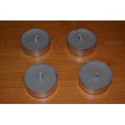 Bougies chauffe-plats parfumées cèdre (lot de 4)