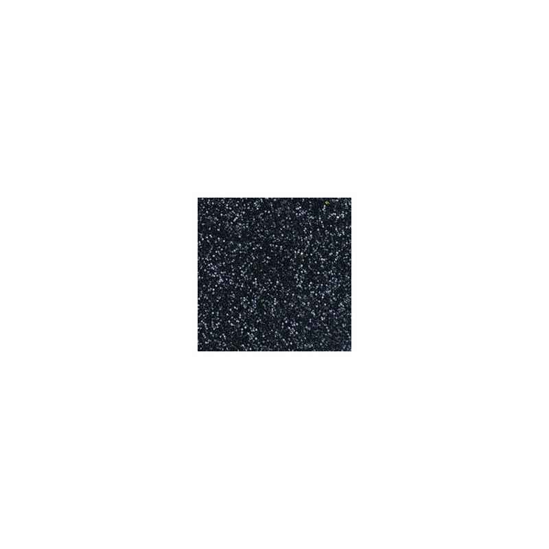 Plaque de Mousse pailletée noir - Petit FORMAT  A 4  : (20 x 30 cm)