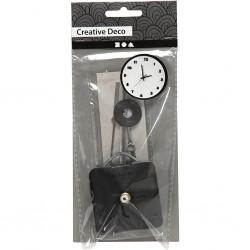 Mécanisme Horloge à pile avec set 3 Aiguilles (8 cm, 11 cm, 12 cm)