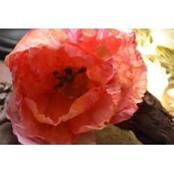 Pistils de fleur, tête noire, tige blanche, lot de 25 pour création de fleurs (environ 40 pistils), 6 cm