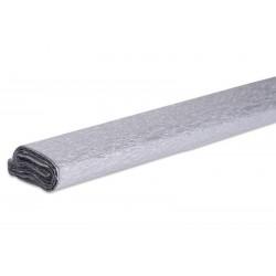 Papier crépon couleur argenté  50 cm x 200 cm (1 pièce)