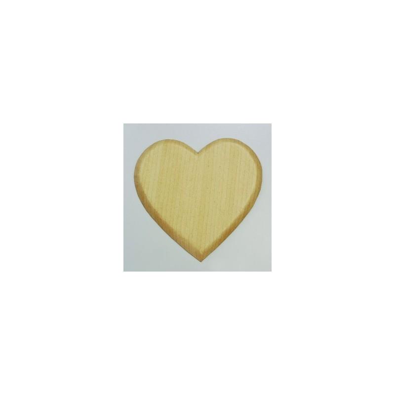 Support à décorer forme Coeur papier mâché 20 cm