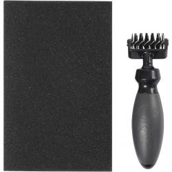 Rouleau brosse pour nettoyage matrice de Découpe avec  support feuille mousse, sissix,  PROMO - 20 % jusqu'au 01/01/2018 !