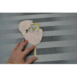 Bâtonnets de bois blanc bouleau, friskos, sachet économique  100 pièces L: 11,5 cm, l: 10 mm