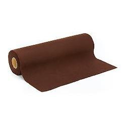 Coupon de feutrine marron foncé, épaisseur : 0.9 mm,  largeur : 45 cm vendu par 50 cm