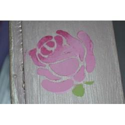 Pochoir fleur Chrysanthème 1 motif (format A5)