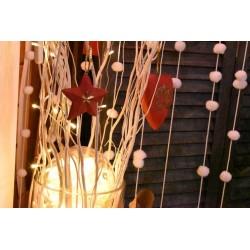 Ruban fil tressé décoratif, doré effet métallisé, environ l: 2,5 mm, vendu au mètre (par longueur d'1 mètre)