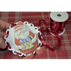 Ficelle décorative chanvre naturel , rouge, épaisseur 1-2 mm,  30m, vendu en pelote