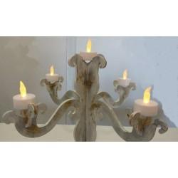chandelier amovibles, support Médium brut à monter , à customiser