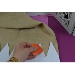 Craie de tailleur pour couture confection, 3 coloris assortis : orange/blanc/bleu