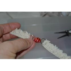 Anneaux brisés argentés  modèle moyen pour clés ou bijoux pendentif (sachet : 10 pièces)  12 mm