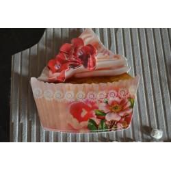 Planche Motifs 3D Cupcakes sélection Carterie