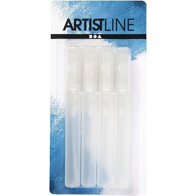 Spray à pompe en plastique pour pulvériser lot de 4 :  10ml