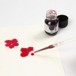 Peinture Aquarelle transparente liquide Art Aqua Pigment, noir, 30ml