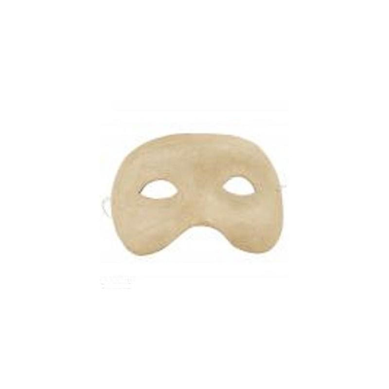 Masque de loup  en papier mâché dim. 15.5 x 5.5 cm, 1 pièce