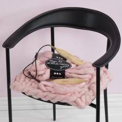Aiguilles à tricoter circulaires  dimension 10 , L: 80 cm, 1pièce