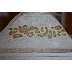 Peinture Pailletée Argentée pour Textile & papier & plâtre - Mise en relief -  FASHION