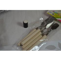 Couteaux Spatules en métal  pour étaler, modeler ou peindre, set 5 pièces