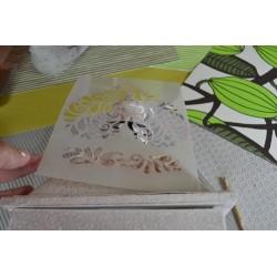 Peinture Pailletée Rubis pour Textile & papier & plâtre - Mise en relief -  FASHION