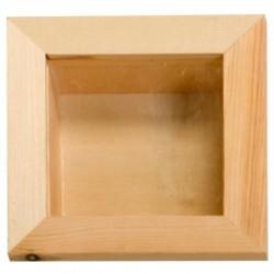 Cadre Vitrine 3D en bois...