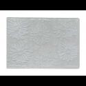 """Plaque de Texture  à relief, embossage classeur """"Fleurs"""" (10,5 x 15cm)"""