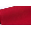 Coupon de feutrine rouge/bordeaux, épaisseur : 0.9 mm,  largeur : 45 cm vendu par 50 cm
