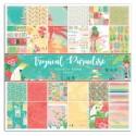 Bloc papier Scrap  30.5 x 30.5 cm Tropical Paradise 6pg