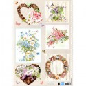 Planche Images Motifs  Country Flowers 1