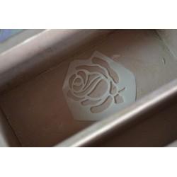 """Pochoir Mini motifs """"Roses et bouquet"""" (format A5)"""
