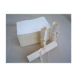 Feuille Papier artisanal...