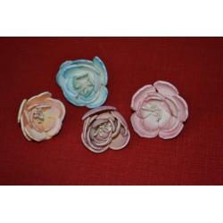 Pistils de fleur lot 25, blanc perlé, diy fleurs, 6 cm